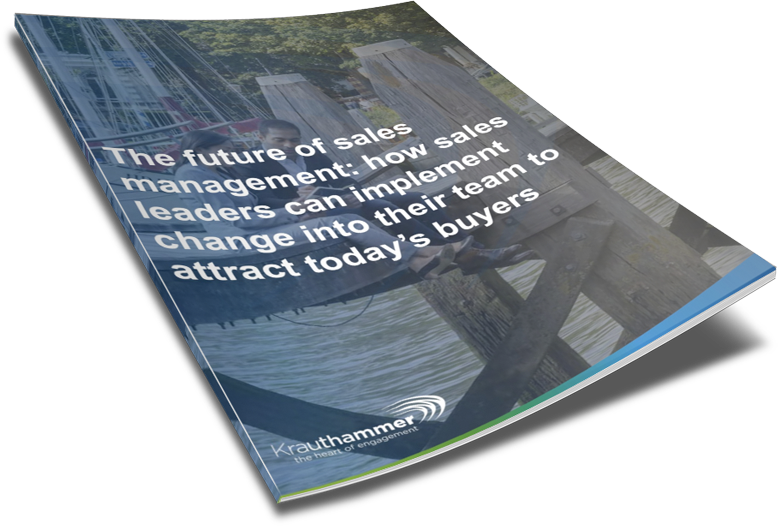 KH - Whitepaper - The Future of Sales Management How Sales Leaders can Implement Change into Their Team to Attract Today's Buyers - 3D Cover